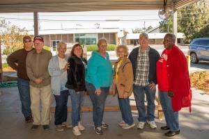 Lanier County Senior Center Fundraiser Chicken BBQ Plate 2019 Nov